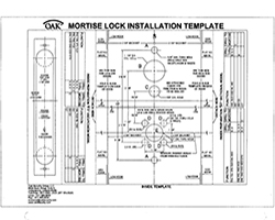 Mortise Lock F1 Inside