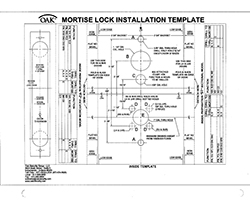 Mortise Lock F2 Inside